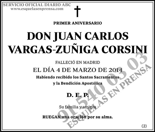Juan Carlos Vargas-Zúñiga Corsini